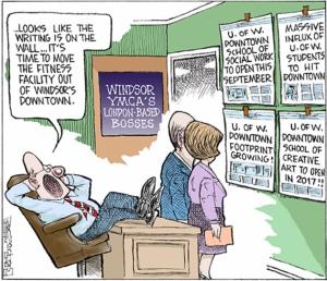 PHOTO: Mike Graston's Colour Cartoon For Friday, June 12, 2015 Mike Graston's Colour Cartoon For Friday, June 12, 2015