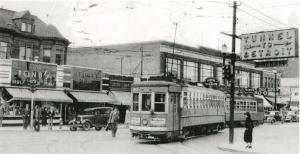 Windsor Street Car in the 1930s